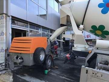 Stabilna pumpa za beton