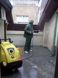 Pranje fasada i skidanje grafita