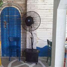 Iznamljivanje ventilatora na vodu