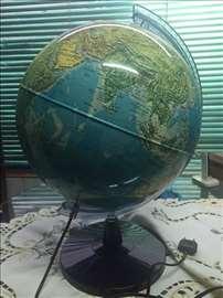 Stari Velika Globus Lampa Obim 96cm