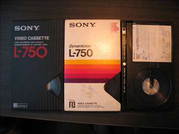 Beta Betamax video kasete