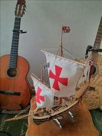 Maketa Kolumbovog broda Pinta, u razmeri 1:65