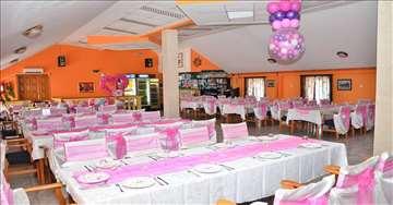 Restoran Tajna, Bor  - opremljena sala za proslave