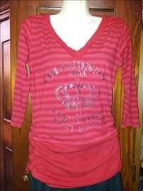 Super crvena majica/tunika - velicina M