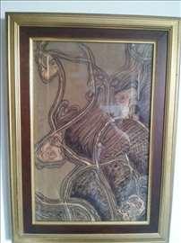 Dušanka Trkulja, batik na sirovoj svili