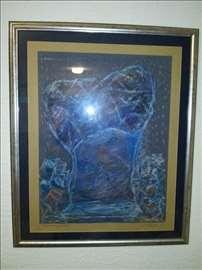 Dušanka Trkulja, suvi pastel