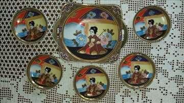 Porcelanski japanski set