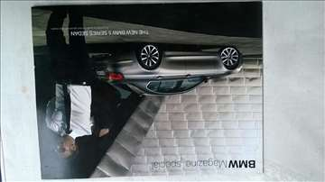 Prospekt BMW Magazine, 36 str, A4, 2010.