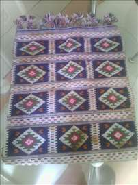 Torba za narodnu nosnju od čiste vune ručno tkana
