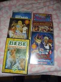 DVD kasete crtanih filmova