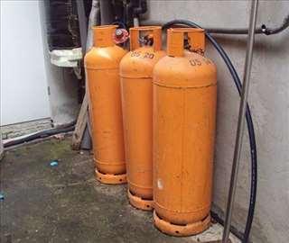 Plinske butan boce, velike, 35 kg, dostava