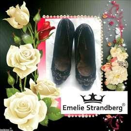Poštarina gratis, crne cipele štikle.39 sl.3