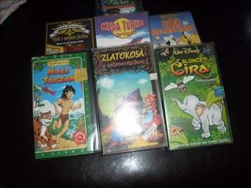 Video kasete sa crtacima za decu