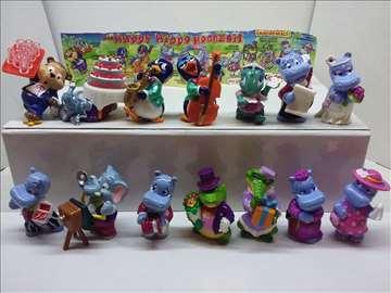 Kinder Suprise figurice, komplet serije