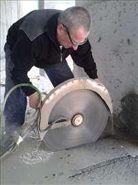 Sečenje, bušenje, razbijanje betona, Novi Sad