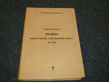Teorija proizvodnje i privrednog rasta 2 - Madžar