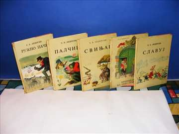 H.K.ANDERSEN 5 knjiga iz zbirke Andersenovih priča