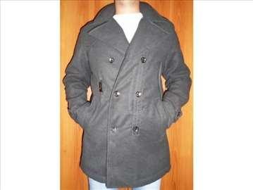 Italijanski muški kaput, L, nov