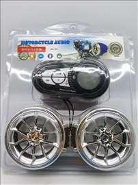 Zvučnici za motocikl Bluetooth/SD Card/USB