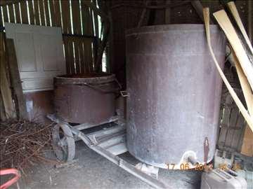 Kazan za  pečenje rakije, od 110 litara