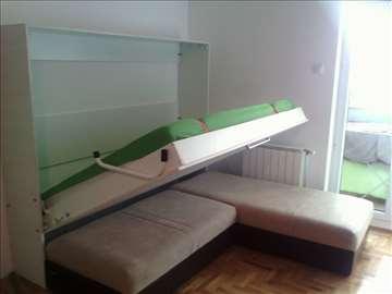 Zidni kreveti i uređaji za zidne krevete