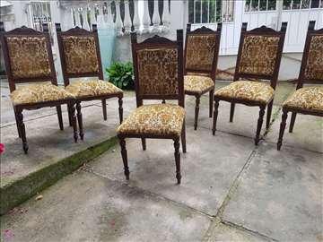 Sto i stolice, duborez!