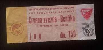 Crvena Zvezda - Benfika 1984