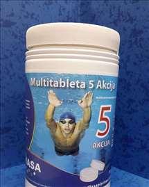 Tablete za bazene 5 u 1 Diasa, 1kg