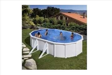 Montažni bazeni GRE set 7.3 x 3.75 x 1.2 akcija