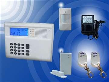 Alarm bežični - telef.dojava 2 senzora 3 daljinska