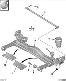 Citroen Jumpy III Zadnja Vazdusna Opruga Amortizer
