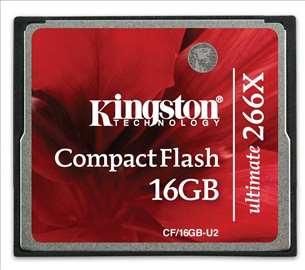 Kingston Compact Flash Ultimate 266x 16Gb