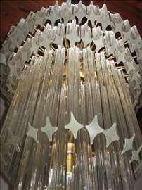 Luster kristalni - murano staklo