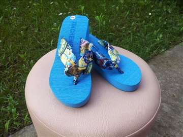Plave papuče Japanke