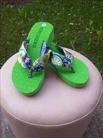 Zelene papuče Japanke