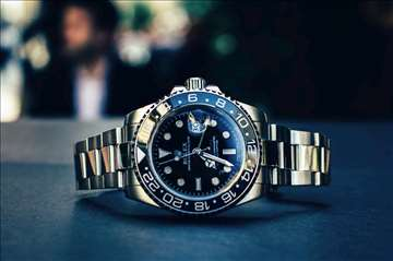 Rolex GMT Master II Steel