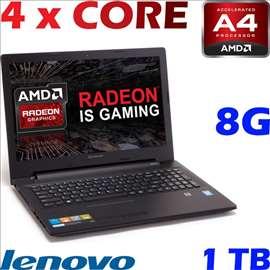 Lenovo 110-15ACL - 8 GB RAM - 1 TB hdd Quad core