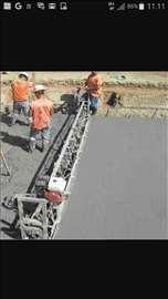 Letva za izvlačenje betona
