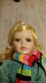 Porculanska unikatna lutka, rucno bojena