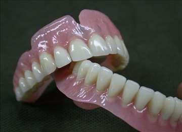 Zubne proteze, izrada proteza
