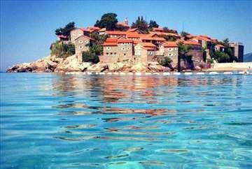 Crna Gora, Sv. Stefan, komforan stan 100% pogled