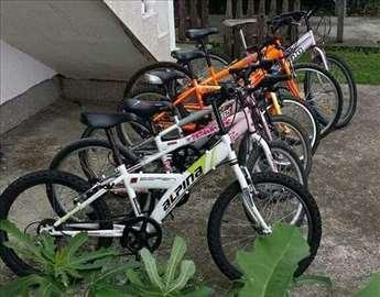 Prodaja polovnih bicikli za sve uzraste