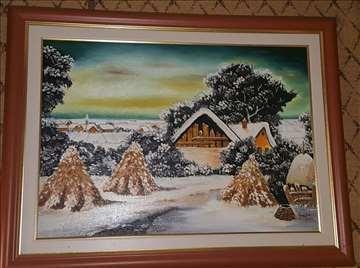 Slika Zima u Sremu