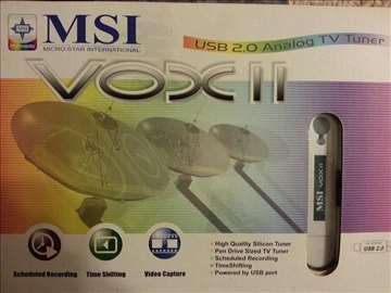 MSI Vox II USB analogni tjuner