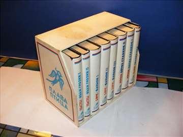 Plava ptica Lot od 8 knjiga u kutiji, Jugoslavija