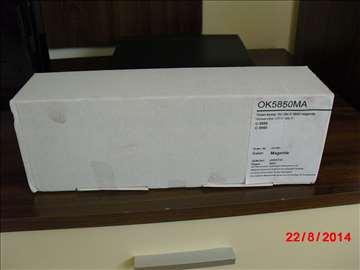 OKI C5850BK Тoner Cartridge - toner kasete