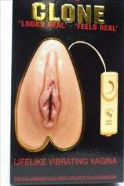 Vestacka vagina, realisticna. Vib the Clone