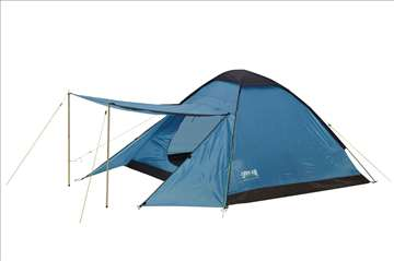 Jednoslojni šator za 3 osobe