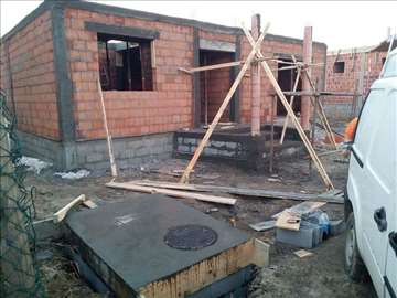Zidanje kuca, nadogradnja, adaptacija