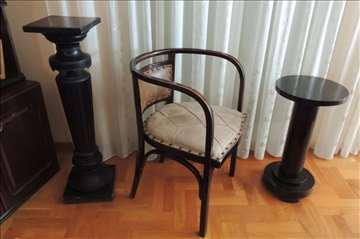 Fotelja Otto Wagner-Jacob Josef Kohn Wien 1903. g.